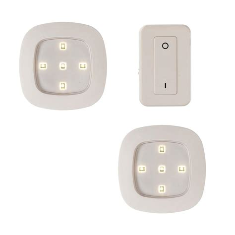 led light remote light it wireless remote led puck lighting system 14