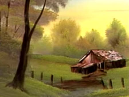 bob ross guest painter delightful meadow home the of painting s26e2