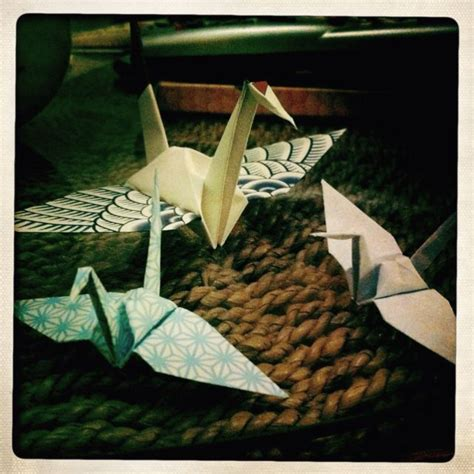 origami paper crane meaning according to legend the folding of a thousand cranes