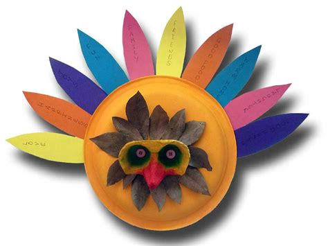 paper plate turkey craft easy craft july 2015