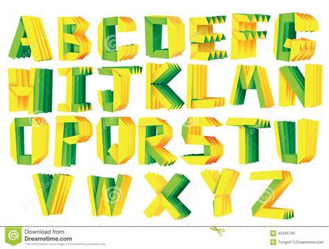 3d Origami Alphabet