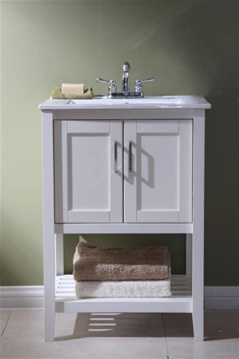 24 bathroom vanity with sink 24 inch single sink bathroom vanity in white uvlfwlf6020w24