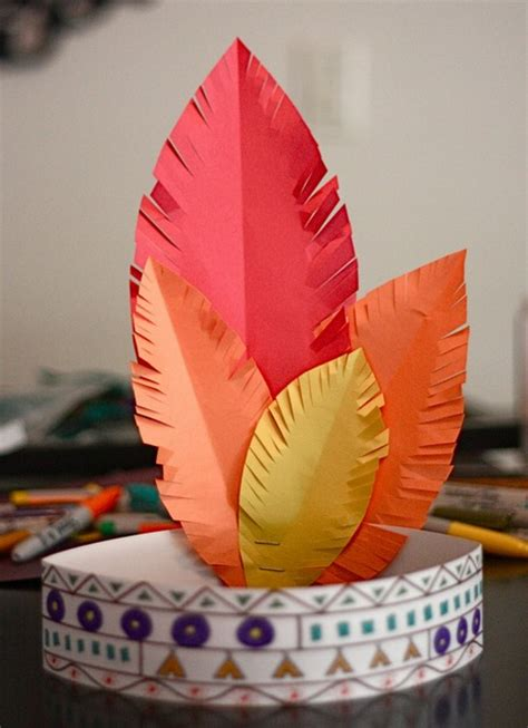 craft hats for gallery turkey hat craft template