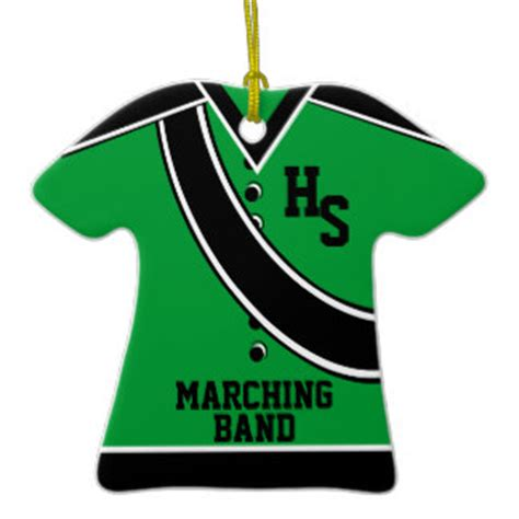marching band ornaments school marching band ornament