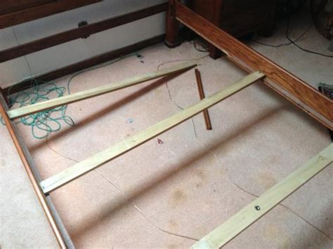 do it yourself bed frame bed frame repair problem doityourself community forums