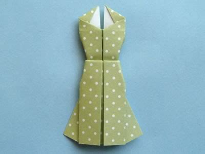 easy origami dress origami card to make dress design with