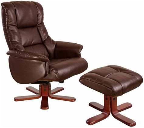 swivel leather recliner chair buy gfa shanghai nut brown bonded leather swivel recliner