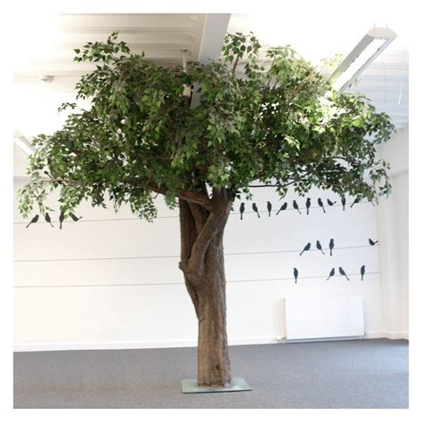 artificial tree uk large artificial birch trees