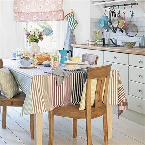 8 Pc Dining Room Set pastel striped dining room decorating housetohome co uk