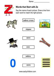 words with z things that start with letter a clipart 19