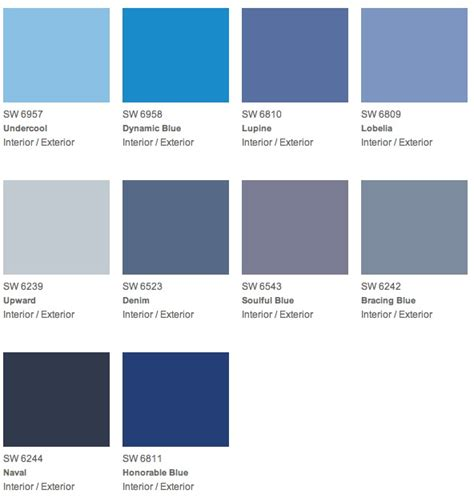 paint colors for blue give your the gift of color for s day