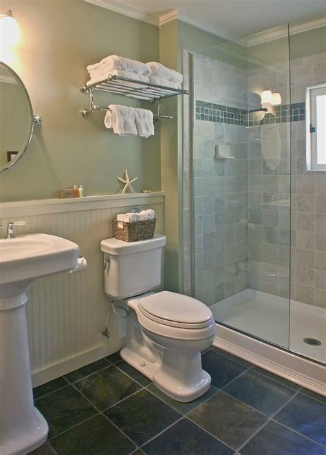 pictures of walk in showers in small bathrooms the bath has vintage style fixtures and a roomy walk in
