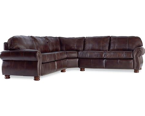 thomasville leather sofas benjamin sectional leather thomasville furniture