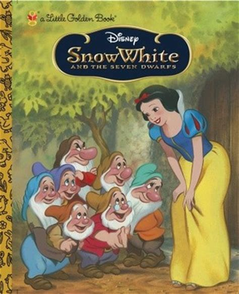 snow white story book with pictures snow white and the seven dwarfs golden book by