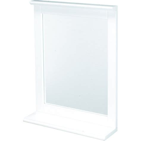 mirror shelf bathroom wickes rectangular bathroom mirror with shelf wickes co uk