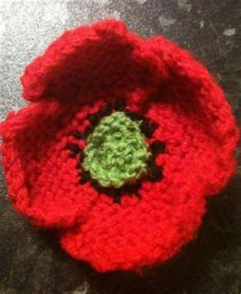 knitting pattern for a poppy flower knitting on knitting knitted flowers and stitches