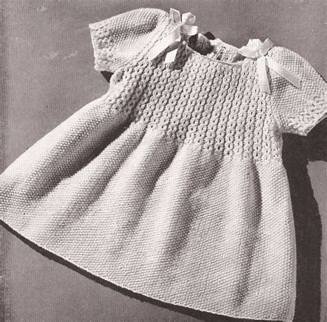 free knitted dress patterns for toddlers best 20 knit baby dress ideas on