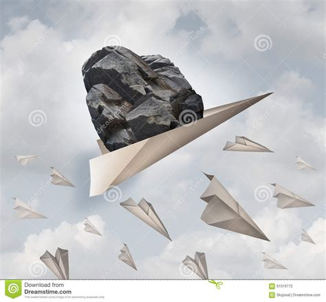 heavy origami paper power of motivation stock illustration image 61019772