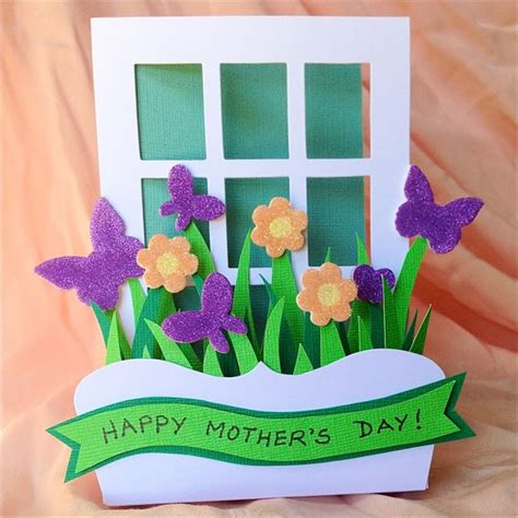 how to make 3d mothers day cards a s day card creates