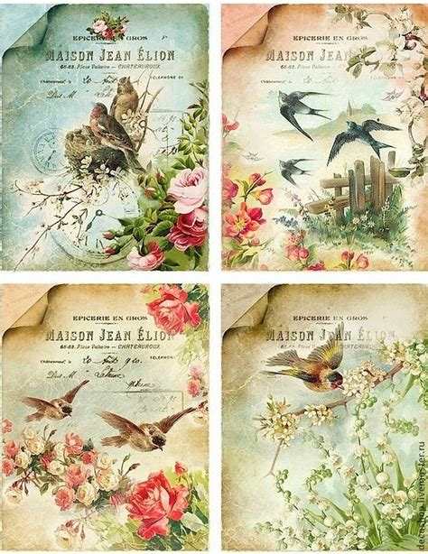 free decoupage sheets to print 25 best ideas about vintage birds on bird