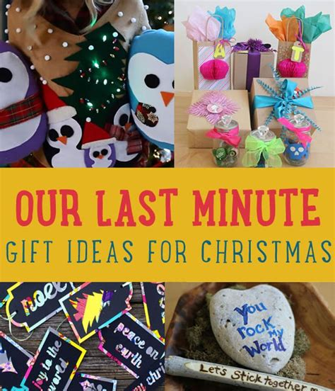 our last minute gift ideas for creative