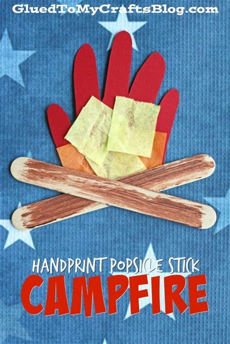 craft stick projects for preschoolers handprint popsicle stick cfire kid craft preschool