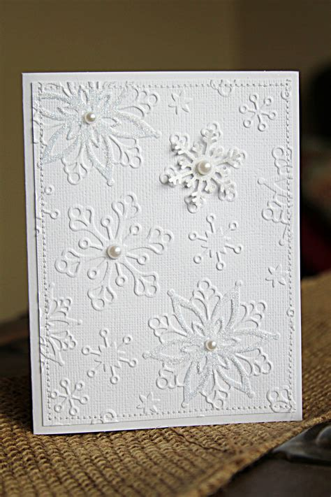 handmade card techniques handmade cards tutorial with white on white