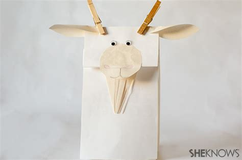 goat crafts for animal crafts you can make with your page 7