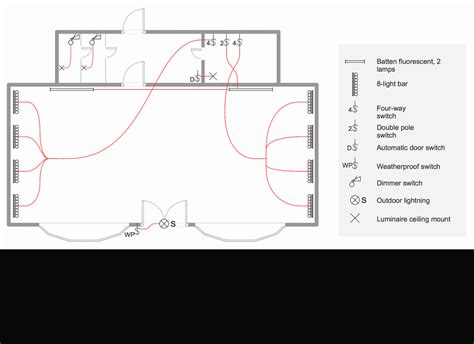 floor plan with electrical symbols house electrical plan software electrical diagram