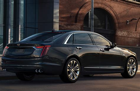 Cadillac V8 2019 cadillac ct6 v sport debuts with v8 gm authority