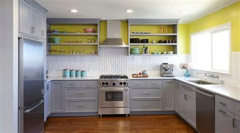 yellow and gray kitchen grey yellow kitchen crowdbuild for
