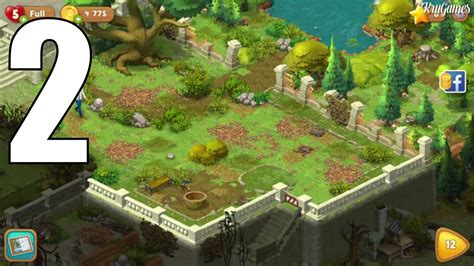 Gardenscapes New Acres Areas Gardenscapes New Acres Android Gameplay 2 Level 8