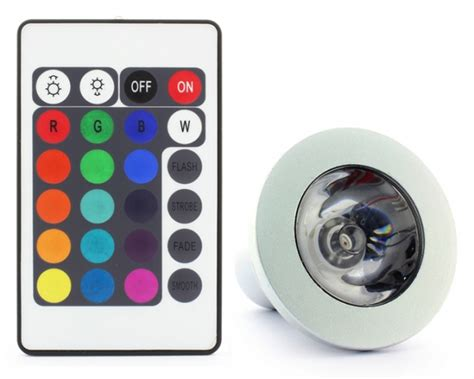 color changing led light bulb gu10 3w led 16 colour changing light bulb with remote
