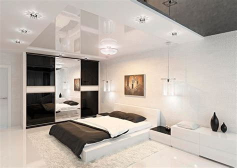 black and white modern bedrooms modern black and white bedroom interior design ideas
