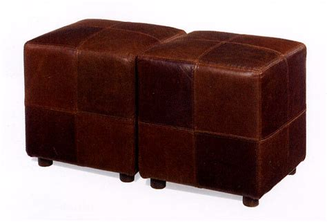 leather cube ottomans leather cocktail ottoman cube leather ottoman