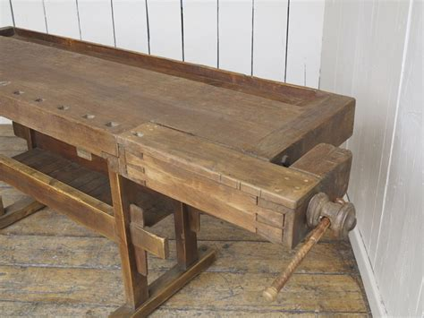 used woodworking bench for sale antique woodworking vintage bench with two vices