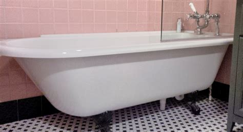 roll top bath and shower corner fit roll top bath with shower