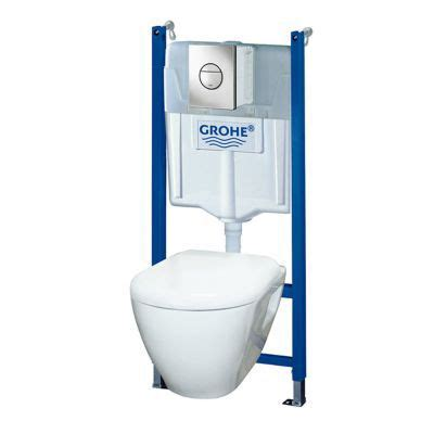 Eco Toilet Dimensions by Pack Wc Grohe Solido Perfect Castorama