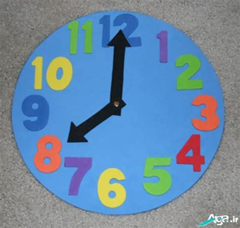 clock craft for مدل های کاردستی ساعت جدید و خلاقانه