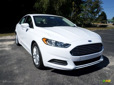 White Ford by 2016 Oxford White Ford Fusion Se 107952204 Gtcarlot
