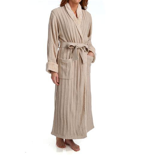 cable knit robe natori sleepwear cable knit robe z74032 natori sleepwear