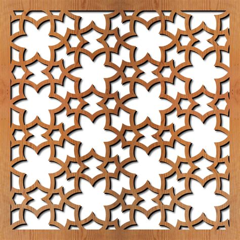 islamic woodwork library of patterns for laser cutting lightwave laser