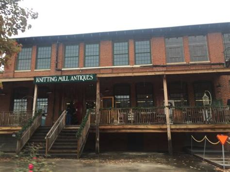 knitting mill antiques entrance from adjoining restaurant picture of knitting