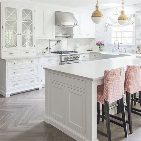 white kitchens with floors the white kitchen is here to stay decor gold designs