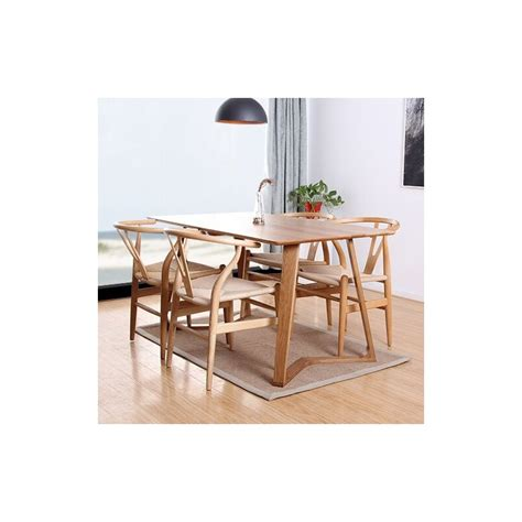 modern furniture dining sets modern solid wood dining table with four dining chairs set