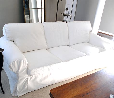 slipcovers for sofas ikea how to easily remove wrinkles from ikea slipcovers the