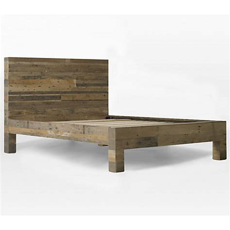 west elm chunky wood bed frame buy west elm emmerson bed frame king size lewis