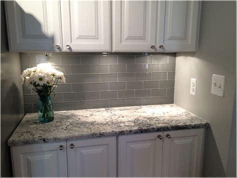 kitchen backsplash glass tile grey glass subway tile backsplash tiles home design ideas