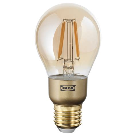 led light bulbs e27 lunnom led bulb e27 400 lumen dimmable globe brown clear