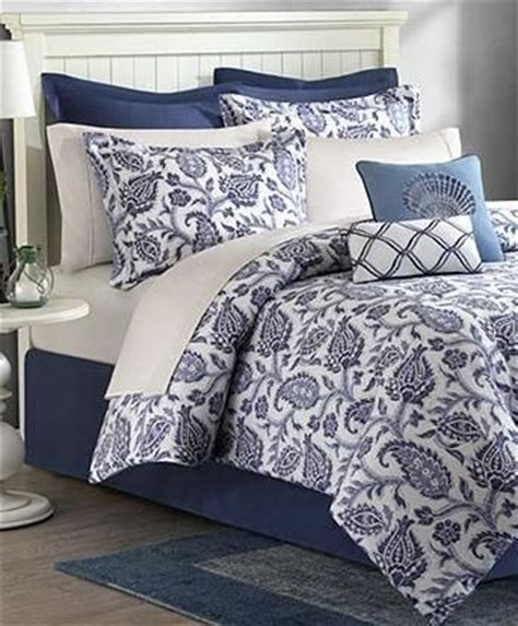 blue and white bedding sets navy blue white palore 8p floral comforter set
